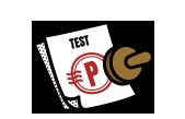 자극 테스트 완료