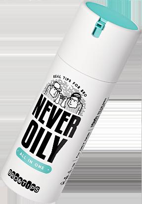 NEVER OILY
